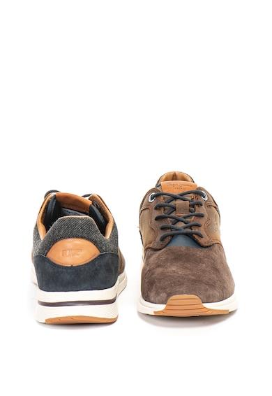 Pepe Jeans London Pantofi sport de piele si material textil Jayker Barbati