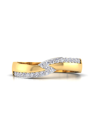 Dhamont Inel decorat cu 21 diamante Femei
