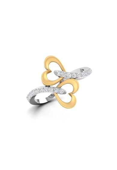Dhamont Inel decorat cu 20 de diamante Femei