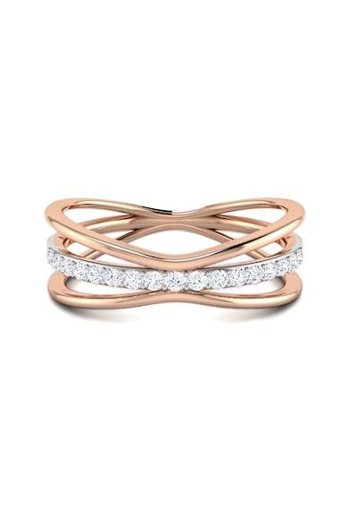 Dhamont Inel decorat cu 21 de diamante Femei