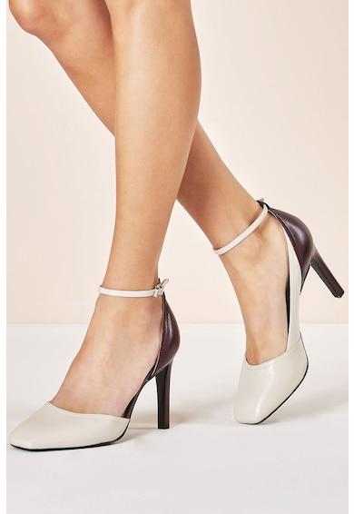 NEXT Pantofi de piele, cu bareta pe glezna Femei