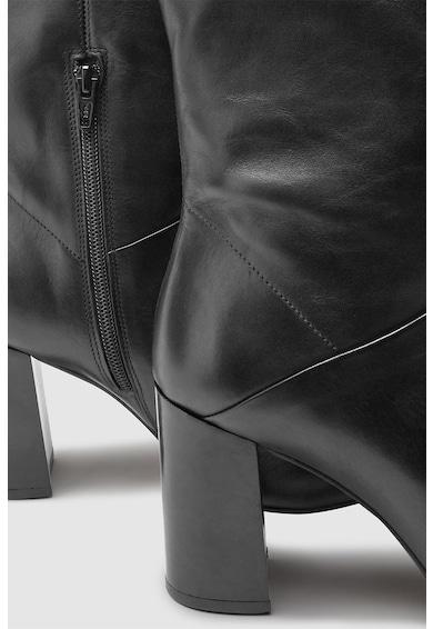 NEXT Cizme de piele, lungi pana la genunchi Femei