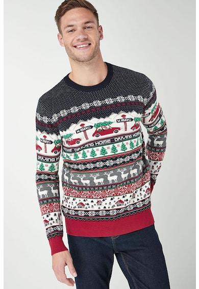 8b6d330d7 Karácsonyi mintás pulóver NEXT