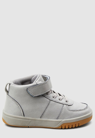 NEXT Pantofi sport mid-high de piele ecologica Baieti
