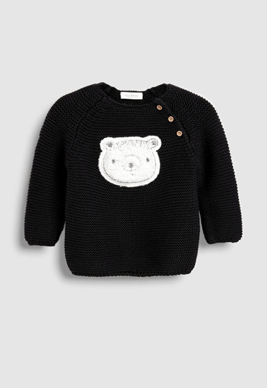 NEXT Пуловер с фигурална апликация Момичета