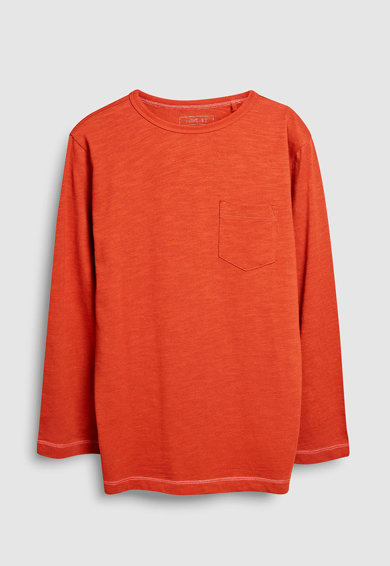 NEXT Set de bluze cu maneci lungi si buzunar pe piept - 4 piese Baieti