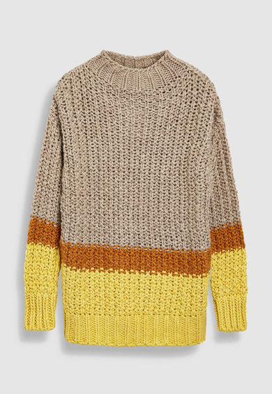 NEXT Csíkos pulóver női