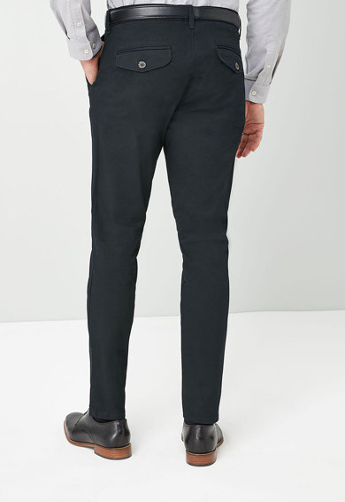 NEXT Chino nadrág övvel férfi