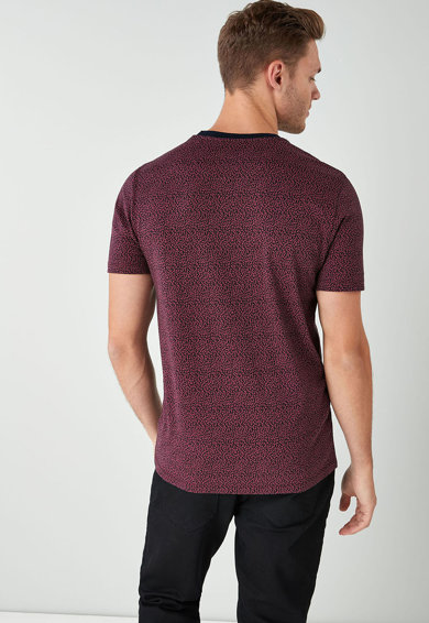 NEXT Тениска с шарка Мъже