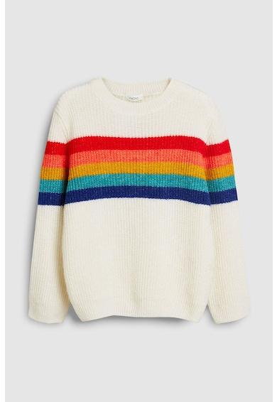 NEXT Пуловер с цветно райе Момичета