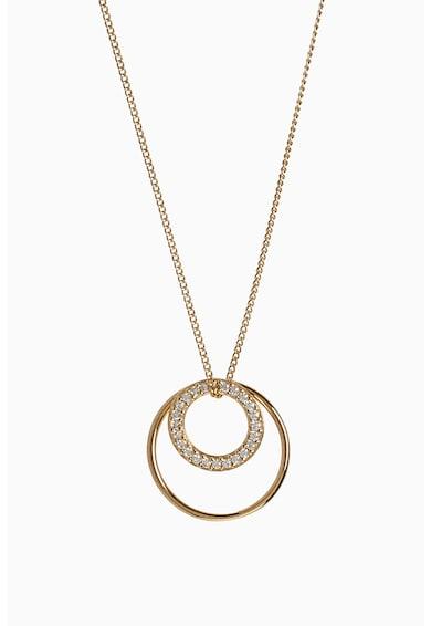 NEXT Nyaklánc kör alakú medállal női