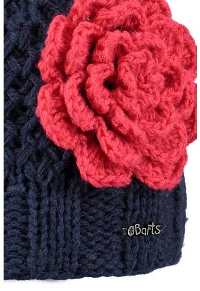Barts Caciula din tricot cu floare decorativa Rose Fete