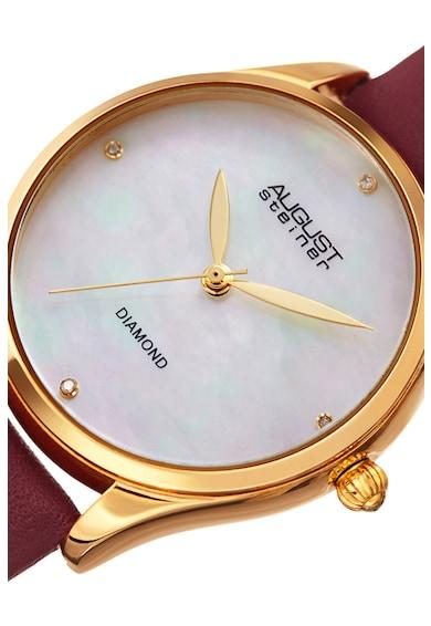 August Steiner Часовник декориран с 4 диаманта Жени
