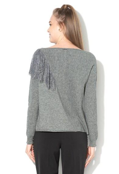 Liu Jo Плетен пуловер с набирания с дантела Жени