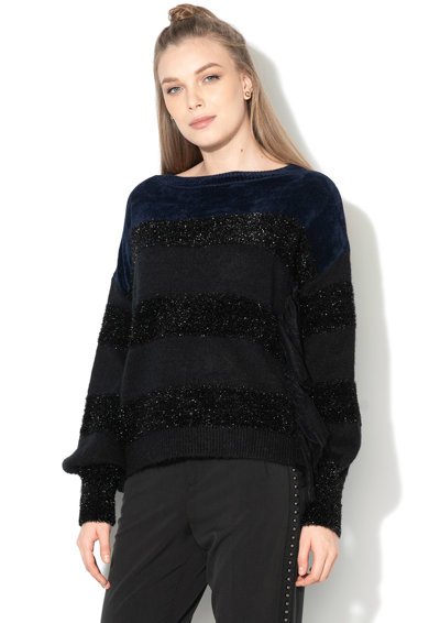 Liu Jo Раиран пуловер с бляскави детайли Жени
