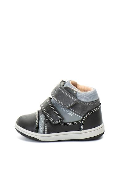 Geox Pantofi sport mid-high cu benzi velcro Flick Baieti