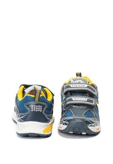 Geox Pantofi sport cu LED-uri si detaliu pikachu J Shuttle Baieti