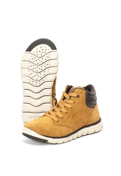 Geox Xunday nyersbőr cipő dekoratív részletekkel Fiú