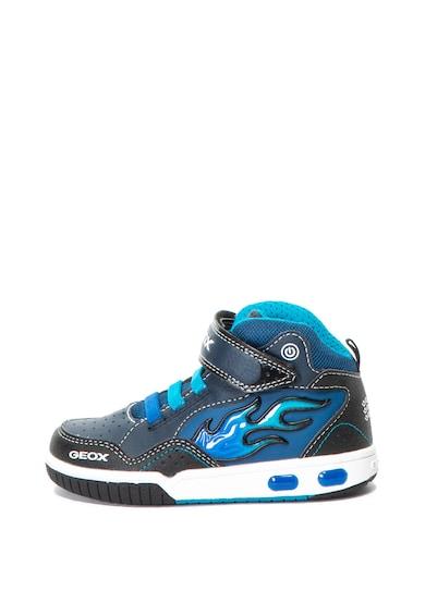 Geox Pantofi sport mid-high cu LED-uri Gregg Baieti