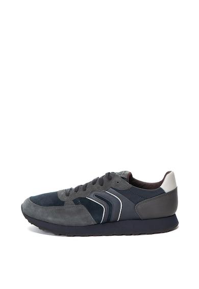 Geox Спортни обувки Vincit от велур и еко кожа Мъже