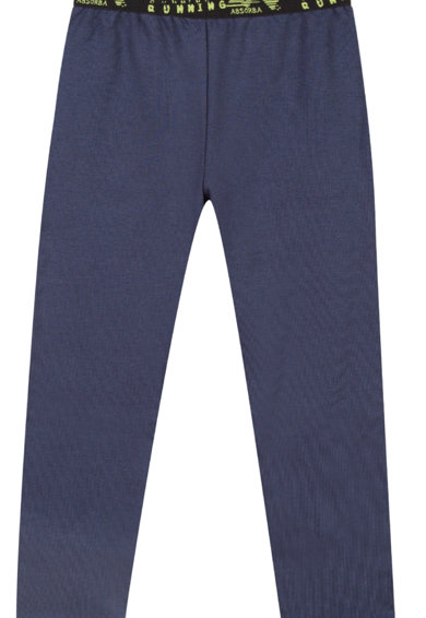 Absorba Pantaloni sport cu banda logo in talie Baieti