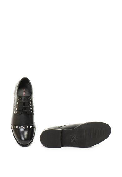 Les Tropeziennes Pantofi derby, de piele, cu tinte Zully Femei