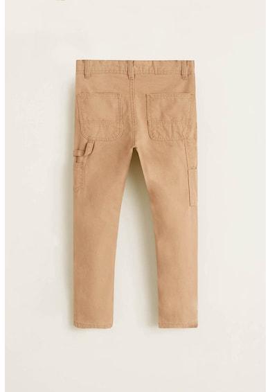 Mango Pantaloni drepti cu buzunare multiple Flip Baieti