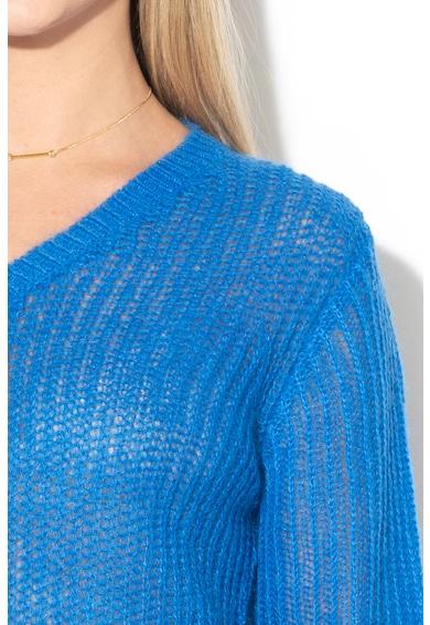 Maison Scotch Плетен пуловер с мохер и вълна Жени