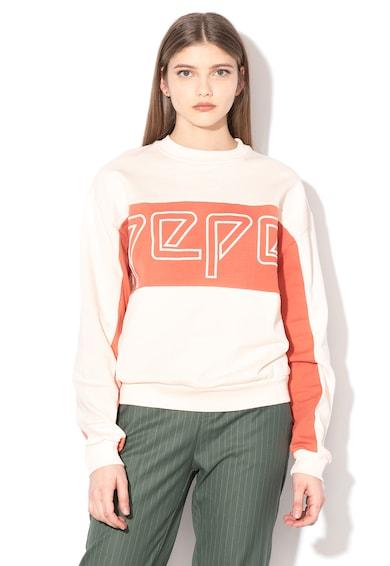 Pepe Jeans London Bluza sport cu logo Gracy Femei