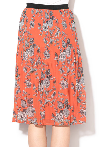 Pepe Jeans London Chelin redőzött virágmintás szoknya női