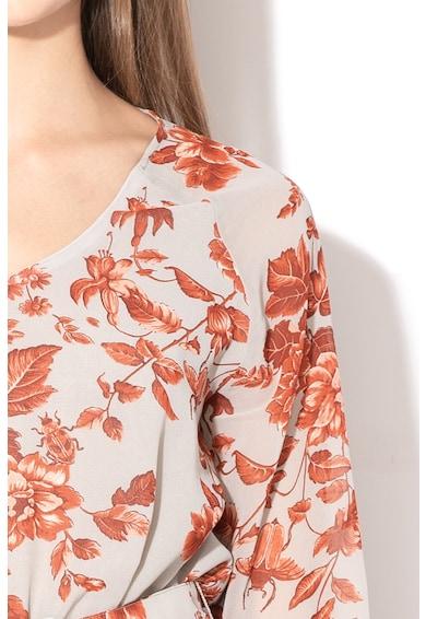 Pepe Jeans London Rochie evazata cu imprimeu floral Natasha Femei