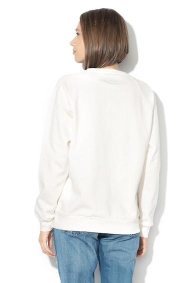 Pepe Jeans London Bluza sport cu imprimeu logo si captuseala din fleece Femei