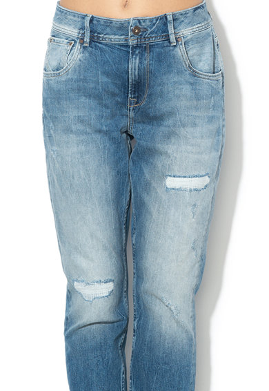 Pepe Jeans London Blugi cu croiala mom fit Violet Femei