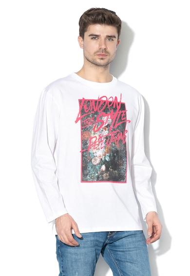 Pepe Jeans London Блуза Jesper с шарка Мъже
