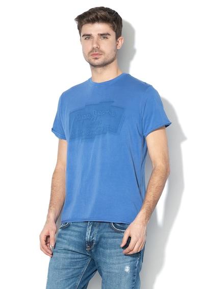 Pepe Jeans London Izzo logómintás regular fit póló férfi