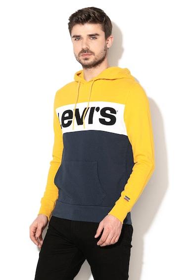 Levi's Colorblock dizájnú kapucnis pulóver férfi