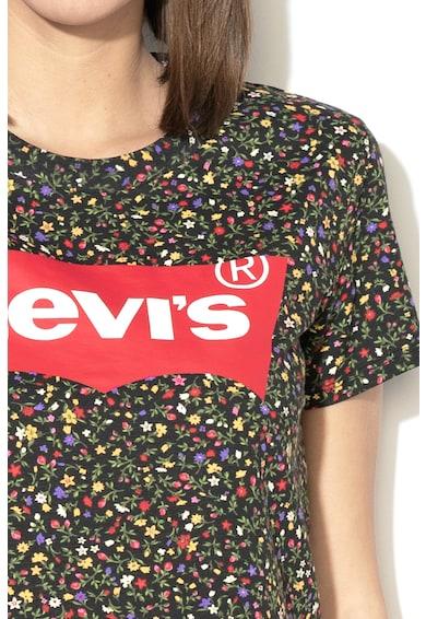 Levi's Virág- és logómintás póló női