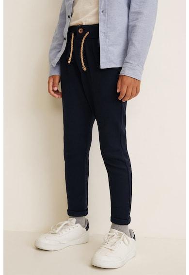 Mango Pantaloni sport cu snur pentru ajustare Butoon Baieti