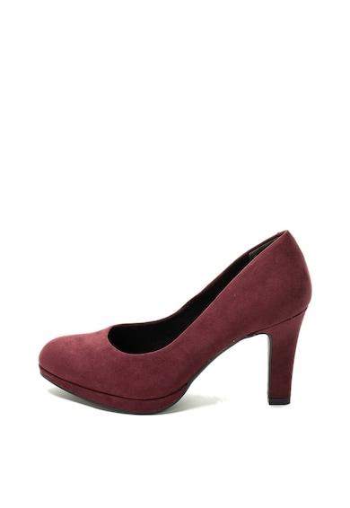 Marco Tozzi Pantofi de piele intoarsa ecologica Femei