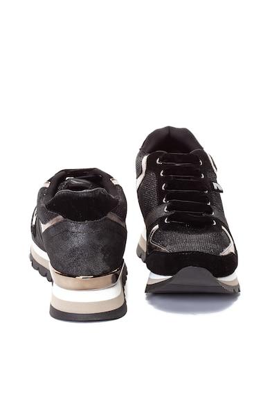 Gioseppo Pantofi sport cu talpa wedge ascunsa si striatii Femei