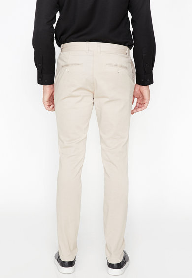 KOTON Pantaloni chino regular fit Barbati