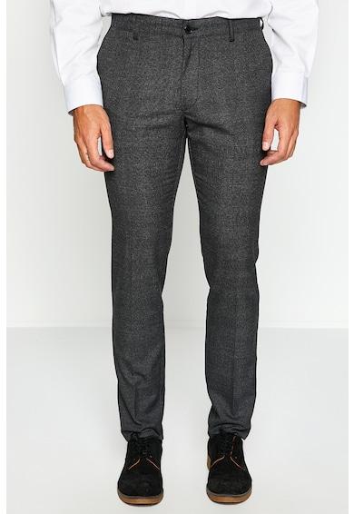 KOTON Pantaloni slim fit cu model in cavvrouri Barbati