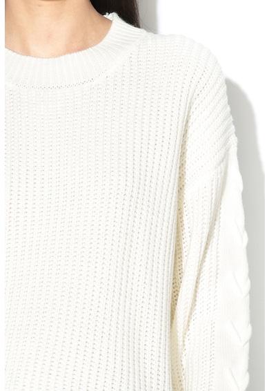 Greystone Pulover cu detalii incrucisate pe maneci Femei