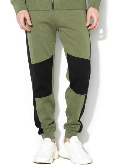 Guess Pantaloni sport colorblock Barbati