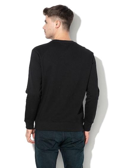 Lee Regular Fit logómintás pulóver polárbéléssel férfi