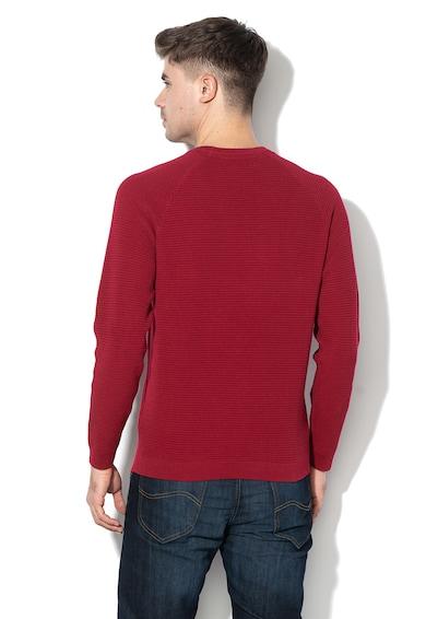 Lee Regular Fit kötött kerek nyakú pulóver férfi