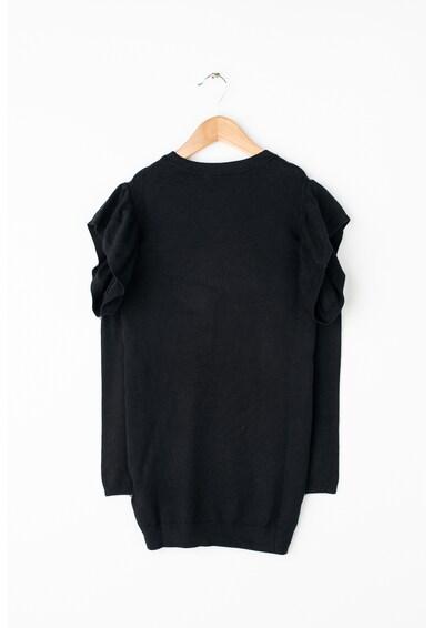 GUESS JEANS Finomkötött pulóverruha strasszkövekkel Lány