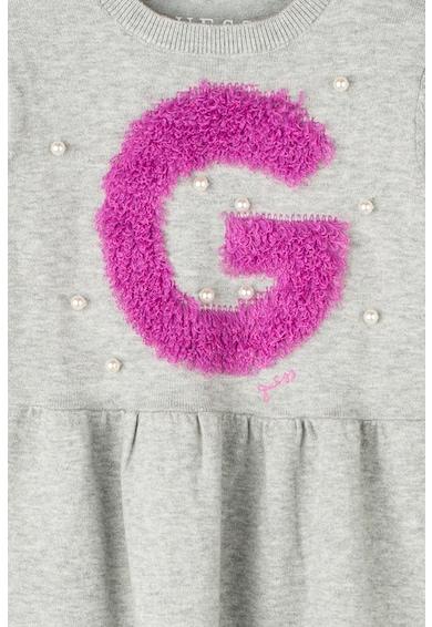 GUESS JEANS Gyöngyös ruha logóval Lány