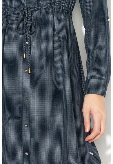Tom Tailor Rochie tip camasa cu snur ajustabil in talie Femei