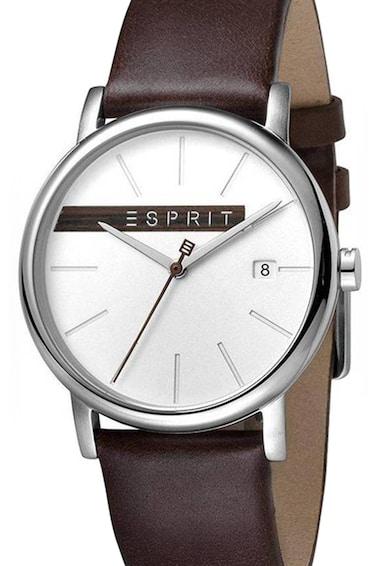 Esprit Часовник с кожена каишка Мъже